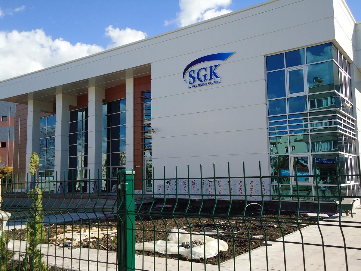 SGK Hizmet Binaları İnşaatı