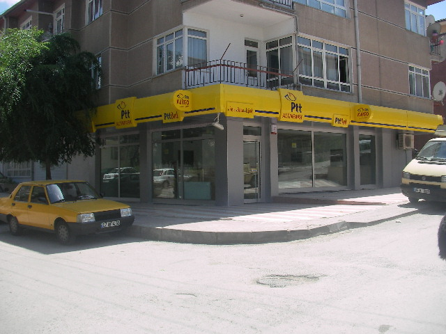 PTT Hizmet Binalarının İnşaatı
