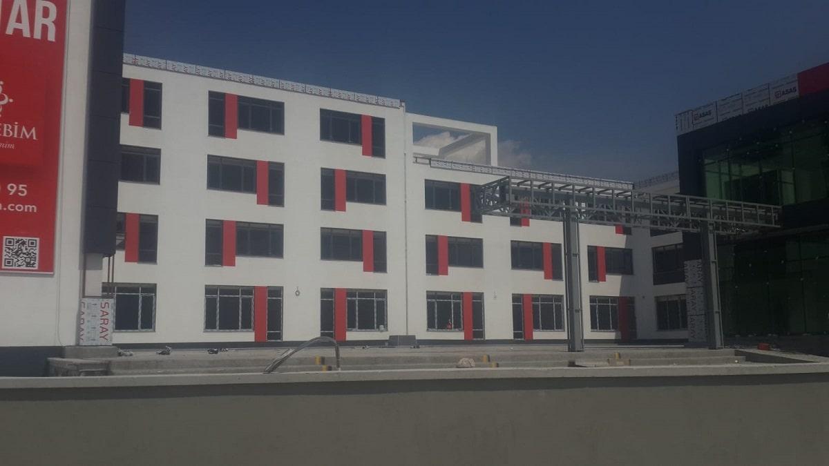 Ankara Özel Mektebim Koleji İnşaatı